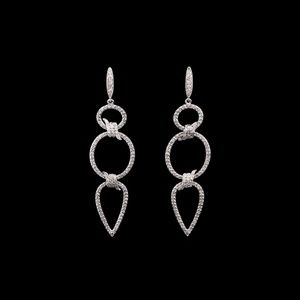 Diamond Drop Earrings 1.15 CTW